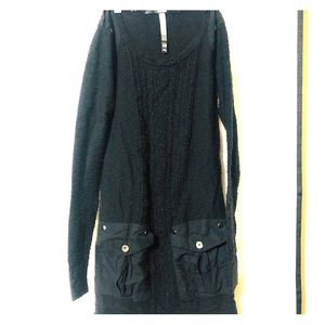 Kensie front cargo pocket dress